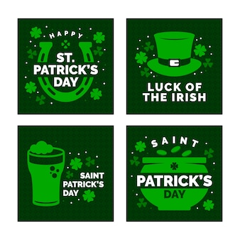 St. patricks day event-thema für instagram-post