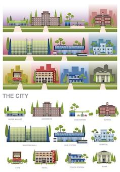 Stadt elemente