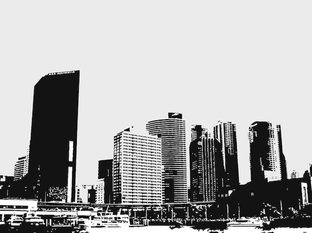 Stadt gebäude auf sydney