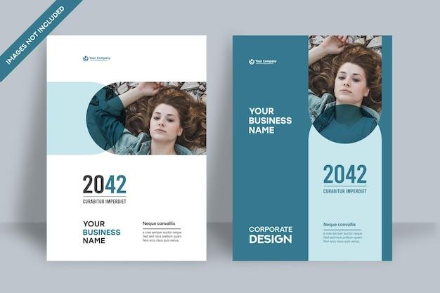 Stadt-hintergrund-business-buch-cover-design-vorlage in a4. kann an broschüre, geschäftsbericht, magazin, poster, unternehmenspräsentation, portfolio, flyer, banner, website angepasst werden.