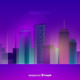 Stadt Neon Hintergrund