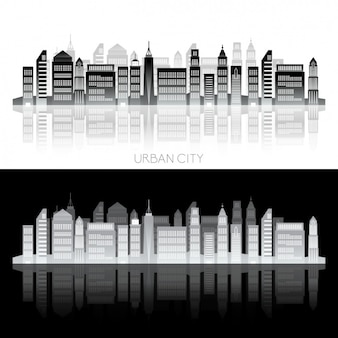 Stadt-skyline design