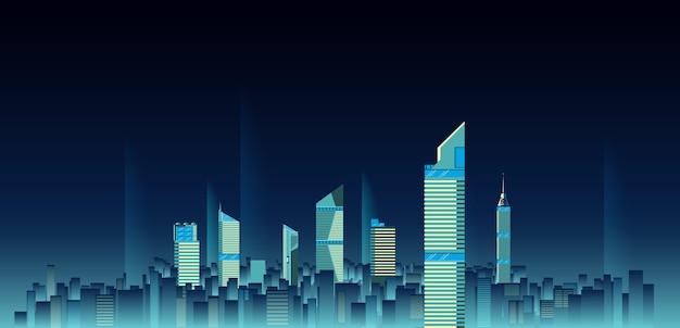 Stadt skylines hintergrund
