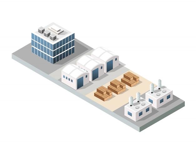 Stadt städtische fabrik