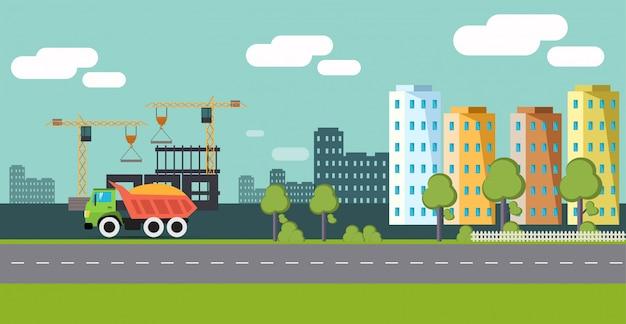 Stadtbau. die eigenschaft. entwickler.