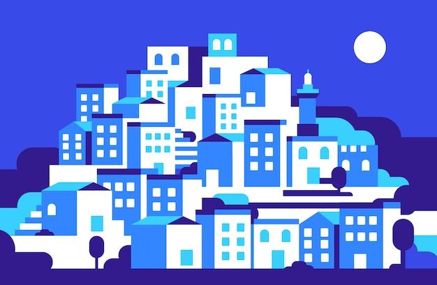 Stadtbild bei nithg