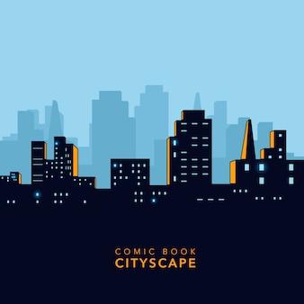 Stadtbild hintergrund design