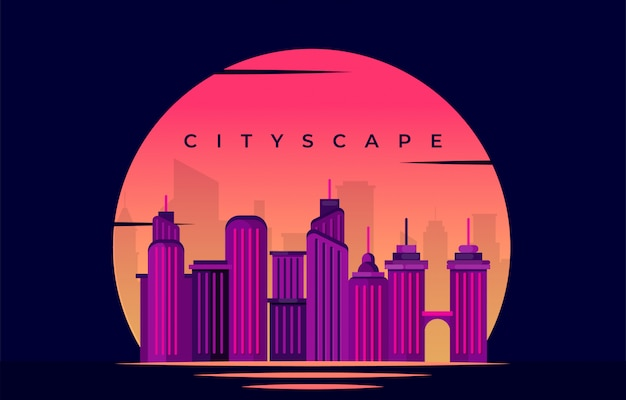 Stadtbild hintergrund