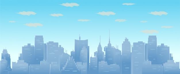 Stadtbild, vektor-illustration
