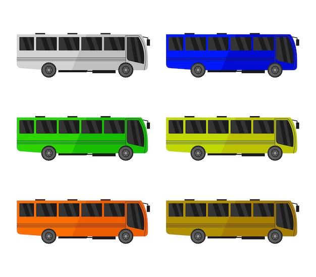 Stadtbus gesetzt
