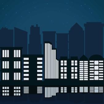 Stadtgebäude abbildung