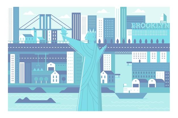 Städte illustration