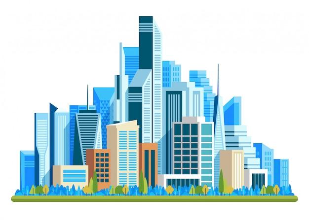 Städtische landschaft