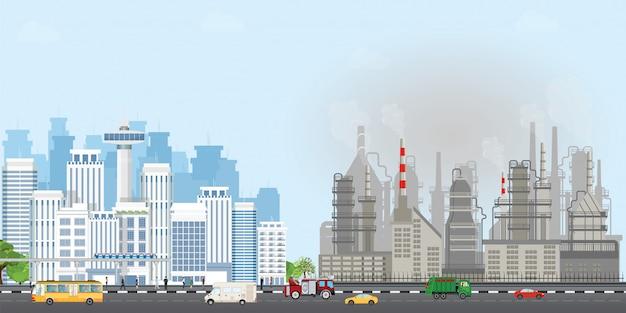 Städtische stadtlandschaft