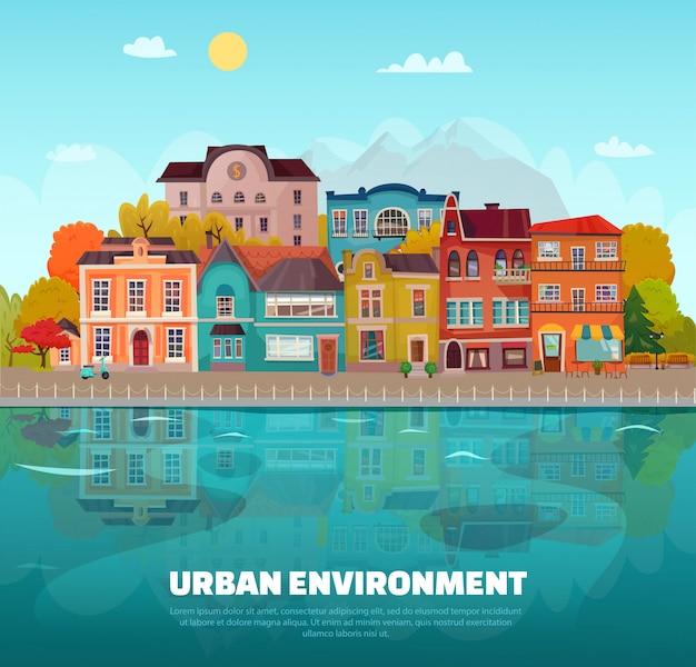 Städtische umgebung