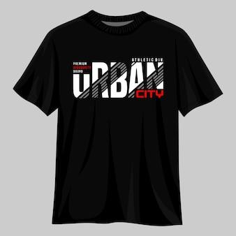 Städtisches stadtvektor-t-shirt-design