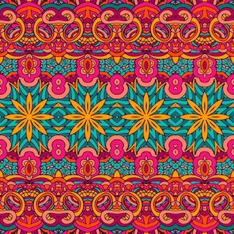 Stammes abstraktes nahtloses muster