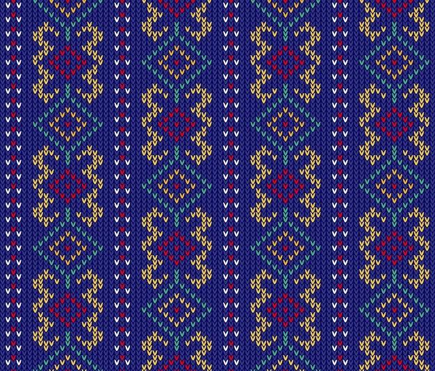 Stammes-aztekisches abstraktes nahtloses muster