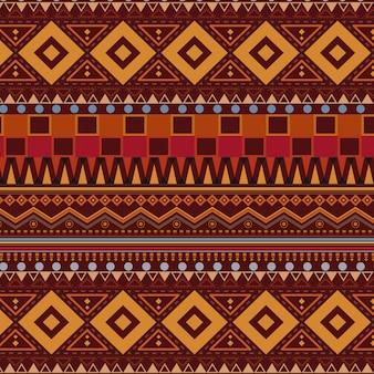 Stammes- ethnische nahtlose mustertapete
