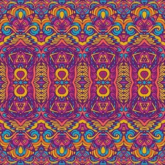Stammes- festlich bunter vektor abstrakte geometrische ethnische nahtlose muster ornamental