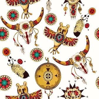 Stammes-nahtlose