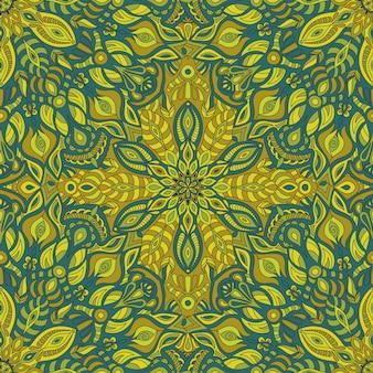 Stammes-vektor-mandala-muster.