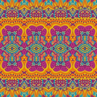 Stammes-vintage abstrakter vektor geometrische ethnische nahtlose muster ornament