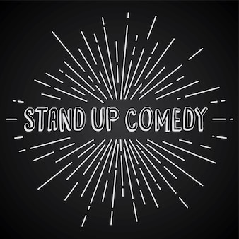 Stand up comedy text show sonnenstrahlen retro-thema