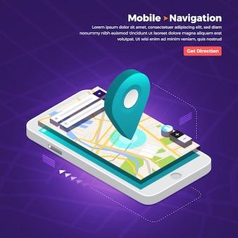 Standortnavigator-konzept
