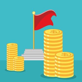 Stapelgeld-erfolgsgeschäft