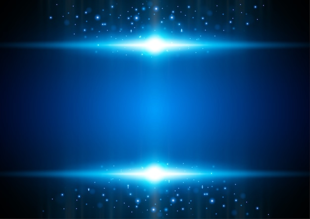 Stardust, technologie-vektor-konzept.