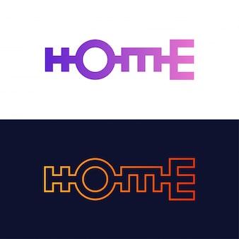 Starke textausgangsbeschriftung oder typografie im geometrischen stil.