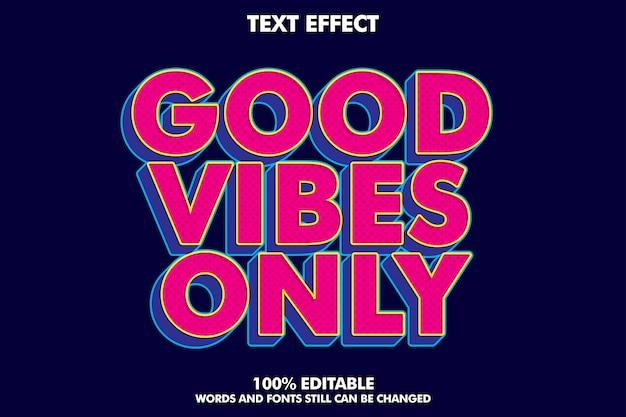Starker kühner retro-pop-art-texteffekt für banner im alten stil