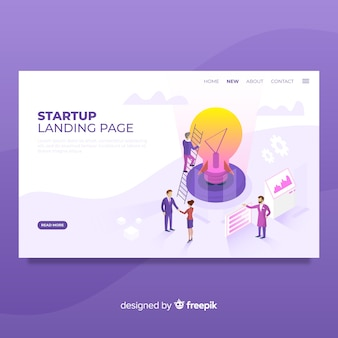 Start-landing-page