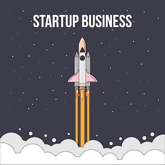 Start-up-business-konzept