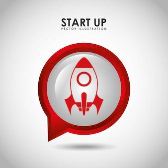 Start-up-konzept