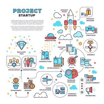 Startup-hintergrund