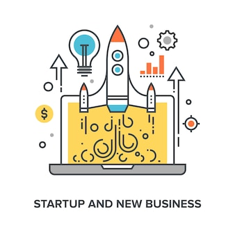 Startup und neugeschäft