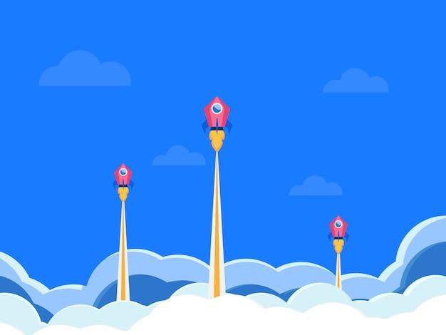 Startup-unternehmen rocket