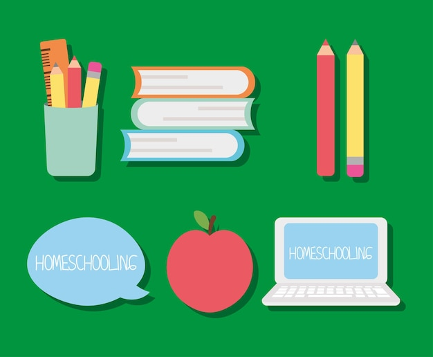 Stationär und homeschooling