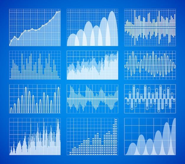 Statistik, geschäftsdatengraphen
