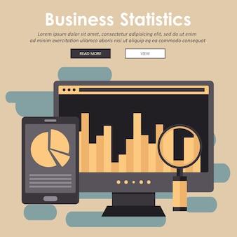 Statistik und geschäftsbericht