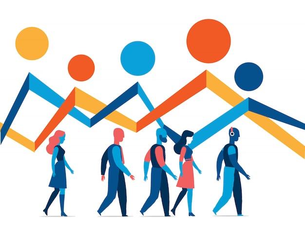 Statistiken und informationen über die gesellschaft