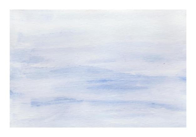 Staubiges blaues abstraktes aquarell als hintergrund