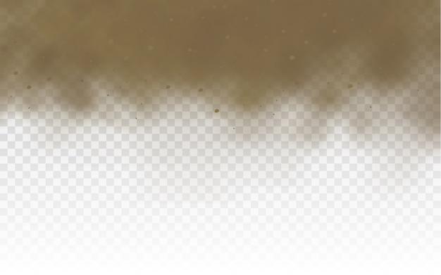 Staubwolkenillustration