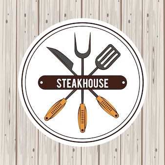 Steakhouse-grill-poster
