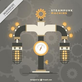 Steampunk maschine