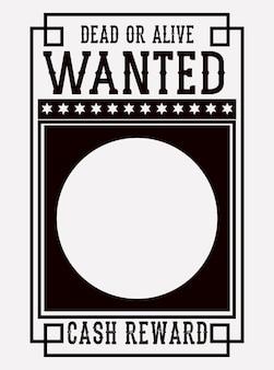 Steckbrief-poster-symbol
