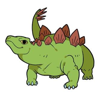 Stegosaurus für dinosaurier in verbindung stehendes design und sachen