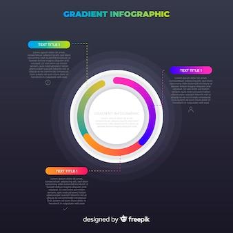 Steigung infographik konzept